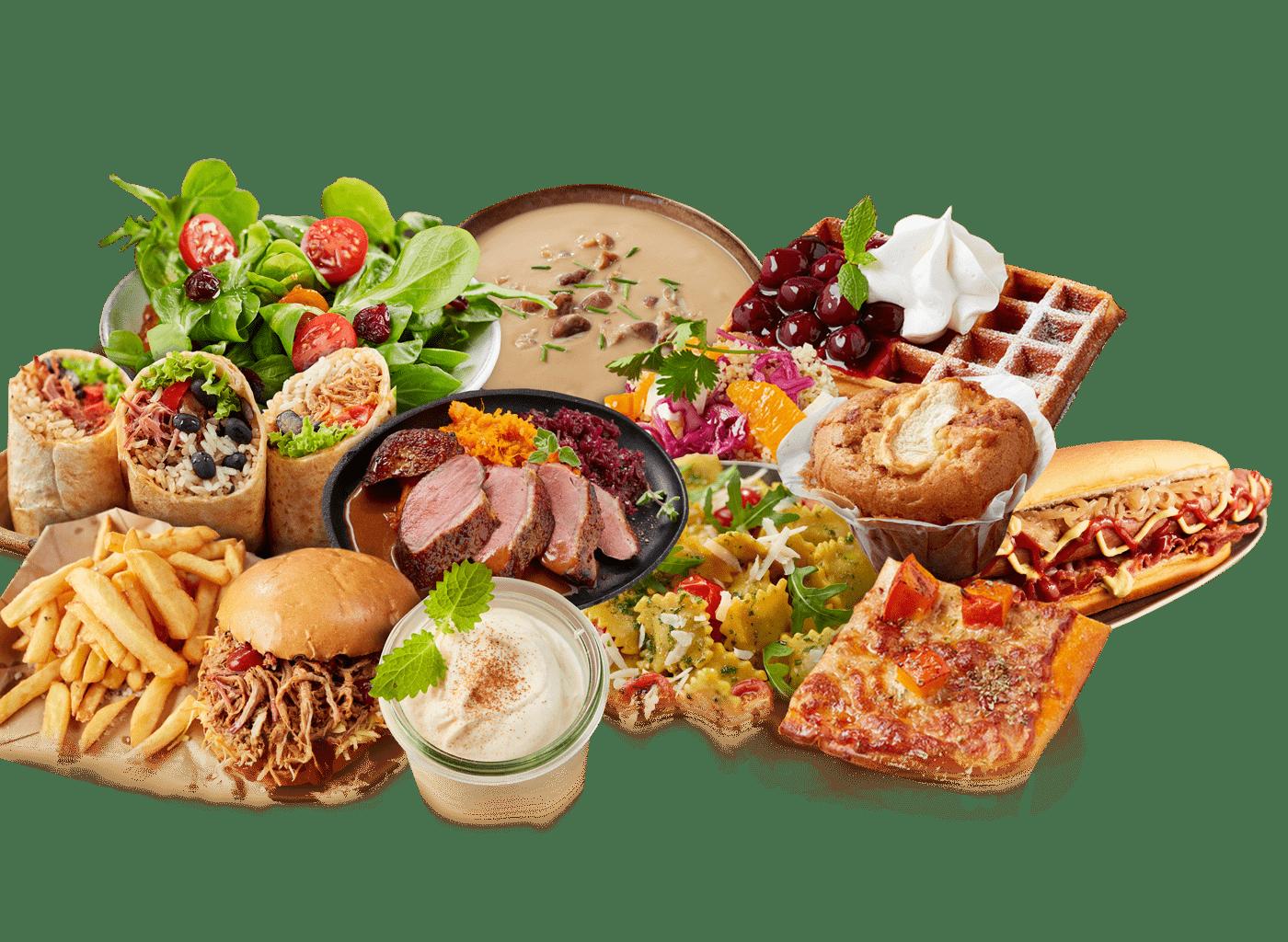 Food-Kollage
